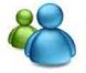 Talk with us  MSN Messenger